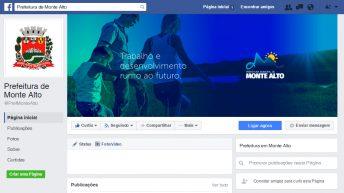 Prefeitura de Monte Alto inicia presença nas redes sociais