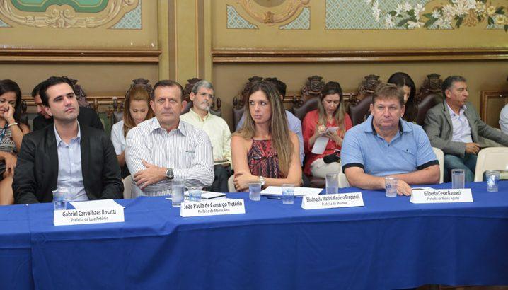 Monte Alto presente em reunião sobre Região Metropolitana