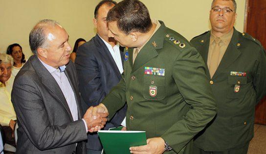 João Paulo toma posse como presidente da Junta de Serviço Militar
