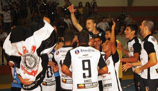 Fiel Monte Alto é o primeiro vencedor do Futsal 2017