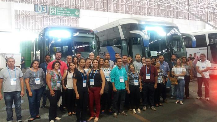 Prefeitura e Sebrae Aqui levam comitiva à Feira do Empreendedor em São Paulo