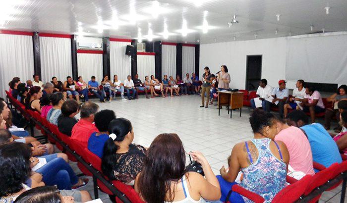 Mutuários do São Miguel participam de formação sobre sustentabilidade