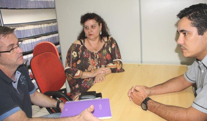 Prefeitura se reúne com ACIMA e Sindicato dos Empregados do Comércio