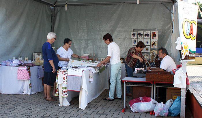 Tradicional Feira de Artesanato do CAAC começou hoje