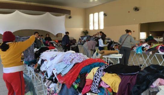 Fundo Social realiza entrega de cobertores e roupas