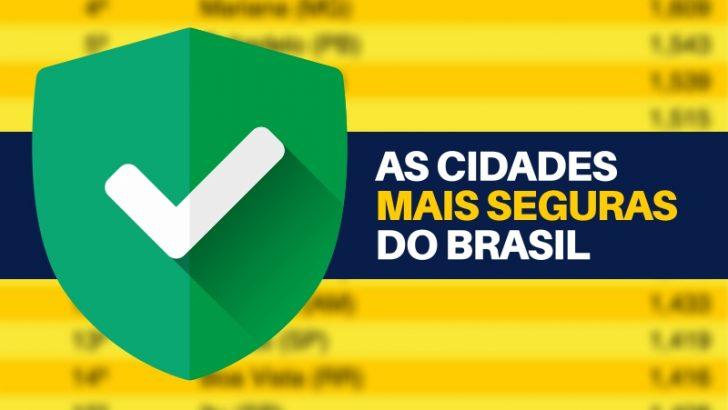 Monte Alto aparece como a 35ª cidade mais segura do Brasil