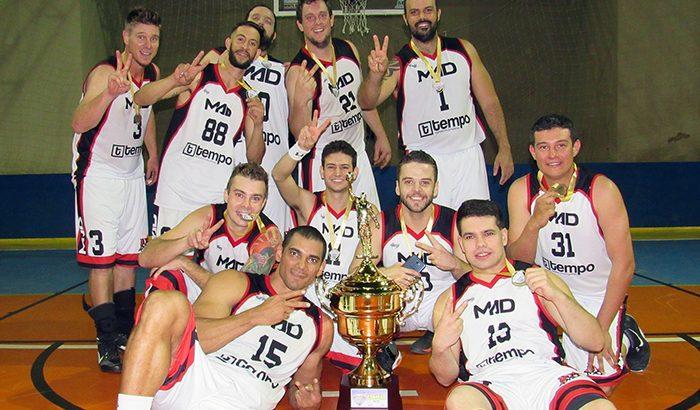 MAD é bicampeão no 3º Campeonato Municipal de Basquete