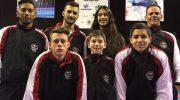 Atletas foram a Curitiba para Campeonato Brasileiro de Karatê