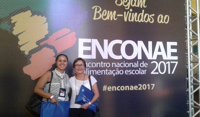 CAE e Central de Alimentos participam do 9º Encontro Estadual de Alimentação Escolar