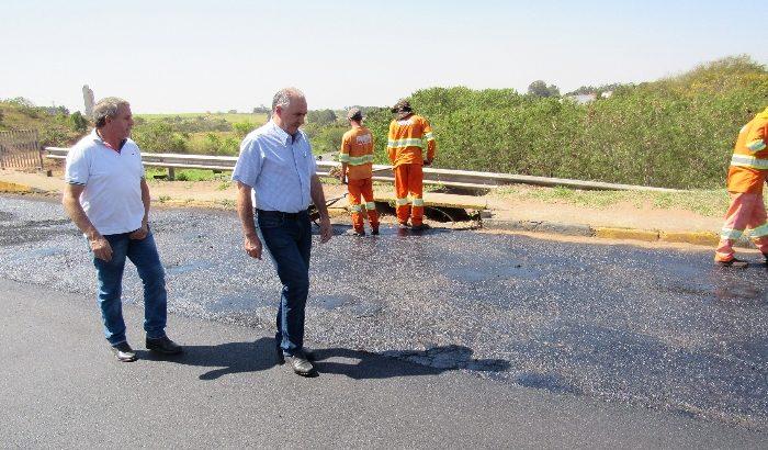 Obras em importantes vias contribuem com o Plano Municipal de Mobilidade Urbana