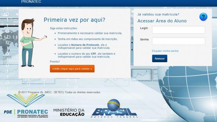 PRONATEC abre novos cursos à distância