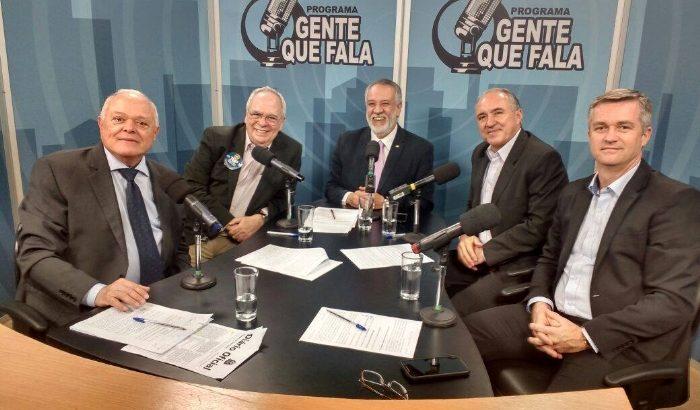 Prefeito João Paulo participa de programa de TV em São Paulo