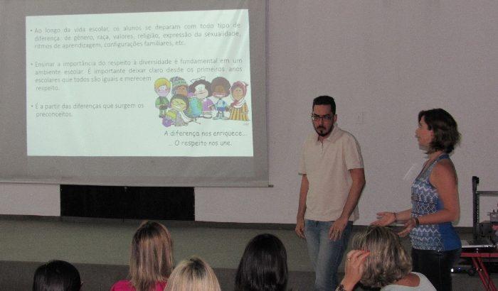 Secretaria da Educação promove curso para docentes da Rede Municipal