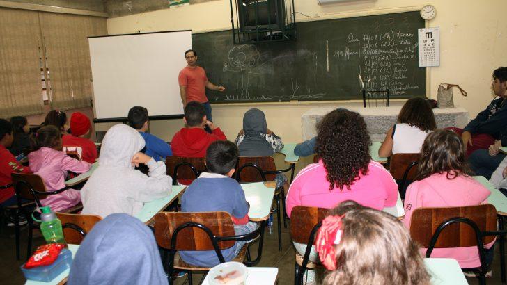 Crianças da EMEB Laídes recebem palestra sobre biodiversidade