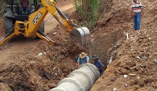 Plano para controle de erosão leva segurança a bairros de Monte Alto