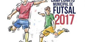 Estão abertas as inscrições para o Campeonato Municipal de Futsal 2017