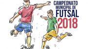Ficha de inscrição para o Campeonato Municipal de Futsal 2018