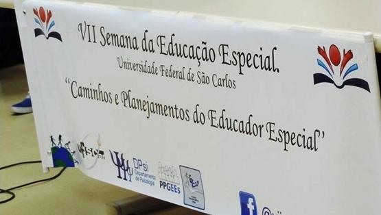 Equipe do SAEEB participa da VII Semana da Educação Especial