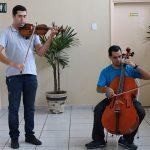 Apresentação dos músicos do Conservatório Municipal