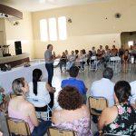 Prefeito João Paulo durante homenagens às colaboradoras municipais