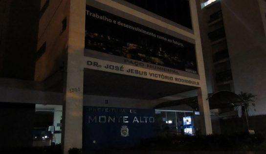Em Monte Alto, luzes são apagadas na Hora do Planeta