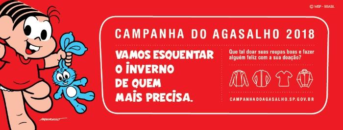 Presidente do Fundo Social participa do lançamento da Campanha do Agasalho 2018