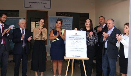 Unidade de Atendimento de Reintegração Social é inaugurada em Monte Alto