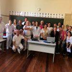 Dentistas e enfermeiros da rede municipal de saúde