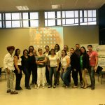Equipe de enfermeiros que participaram do curso