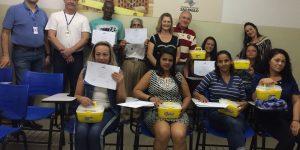 SENAC e Secretaria de Assistência finalizam cursos