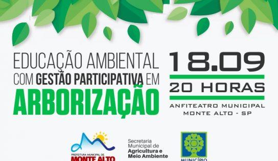 Audiência pública debaterá arborização e educação ambiental
