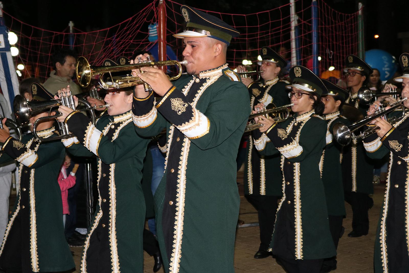 As fanfarras, tão aguardadas nos desfiles cívicos em Monte Alto, retornam em festival no próximo sábado.