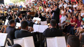 Festival de Bandas e Fanfarras resgata tradição em Monte Alto