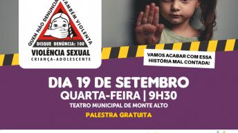Conselho Tutelar organiza palestra sobre sinais de violência