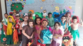 EMEB Joana D'Arc realiza dia interativo sobre o Folclore