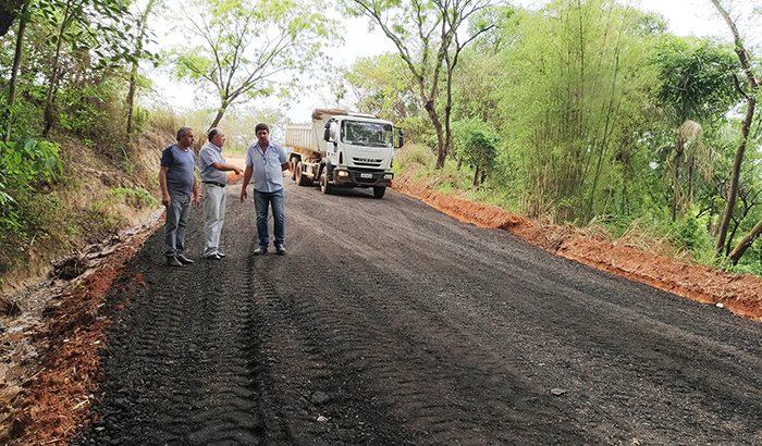 Melhorias na estrada da Água Limpa devem ser entregues nos próximos dias
