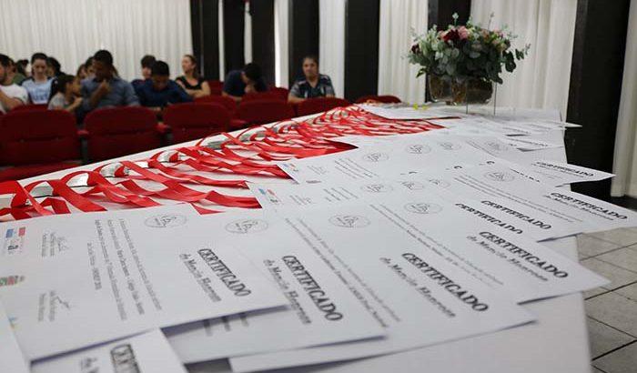 Educação realiza cerimônia de premiação das OMMEP e OBA