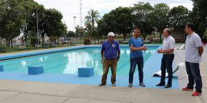 Departamento de Esportes conclui reforma das piscinas do Baby Barioni