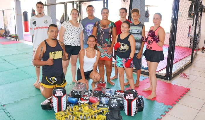 Projeto esportivo recebe doação do Fundo Social de Solidariedade
