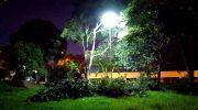 Prefeitura realiza operação para melhorar iluminação de espaços públicos