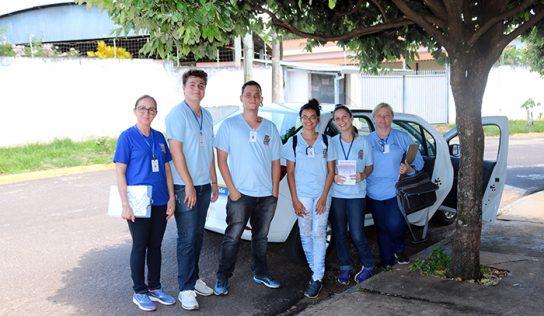 Alvorada recebe equipe da Vigilância em mutirão contra a dengue