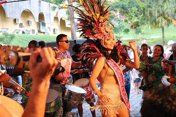 A empresária e professora de dança, Renata Paganini, foi a Rainha do Carnaval em 2018.