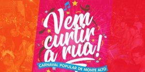 Corte carnavalesca será apresentada em pré-folia