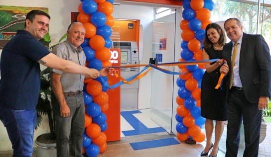 Itaú inaugura sua agência na entrada do Paço Municipal