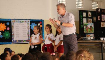 Crianças das escolas de Monte Alto recebem palestras sobre educação no trânsito