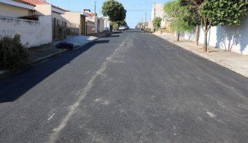Recape levará asfalto novo a 10 km de ruas do município