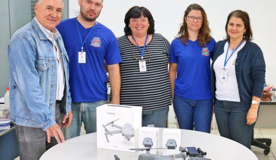 Saúde adquire drone para fiscalização no município