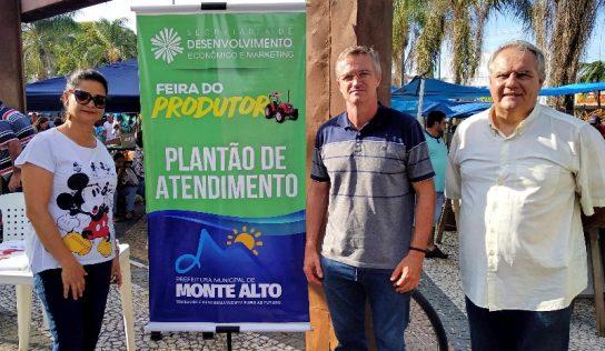 Secretaria da Prefeitura dá início a plantões na Feira do Produtor e anuncia novidade