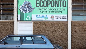 Ecoponto destinará corretamente o lixo eletrônico em Monte Alto