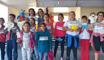 Projeto leva cuidados com a saúde bucal para as escolas